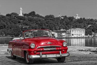 Canvastavlor Kuba Casablanca Havanna sw