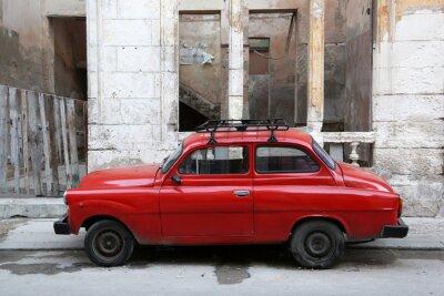 Canvastavlor Kuba, Havanna, Oldtimer