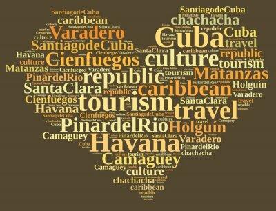 Canvastavlor Kuba turism.