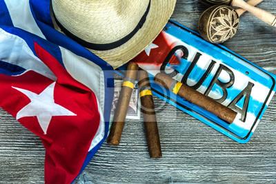 Canvastavlor Kubanska koncept tabell över några relaterade artiklar
