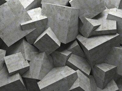 Canvastavlor kuber vägg