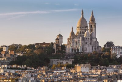 Canvastavlor La Sacré Cœur de Montmartre