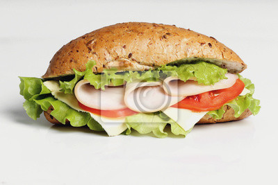 Canvastavlor lång sandwich