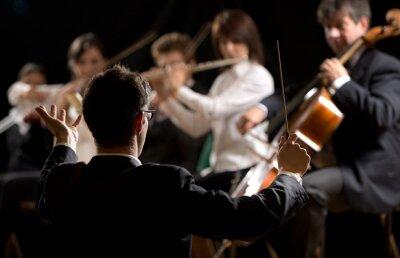 Canvastavlor Ledare rikta symfoniorkester
