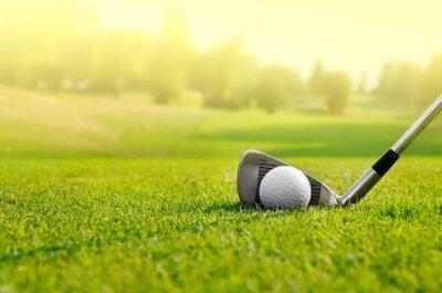 Canvastavlor Let golf