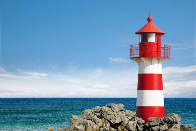 Canvastavlor Lighthouse Oceanfront