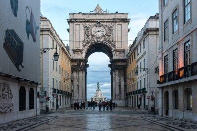 Canvastavlor Lisbona, città 3