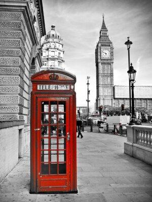 Canvastavlor London intryck