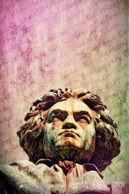 Canvastavlor Ludwig van Beethoven