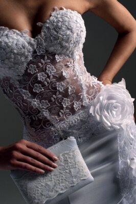 Canvastavlor luxe brud i figursydda klänning, katalog bild