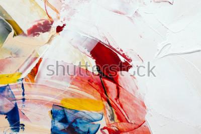 Canvastavlor målade abstrakt bakgrund