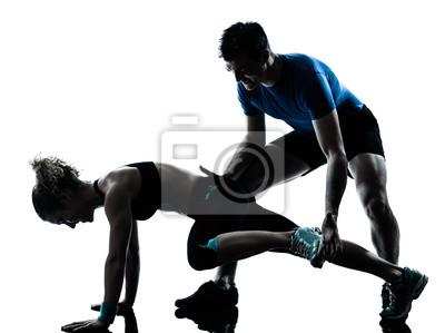 personlig tränare krok upp