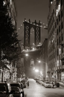 Canvastavlor Manhattan Bridge