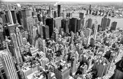 Canvastavlor Manhattan, New York City. USA.