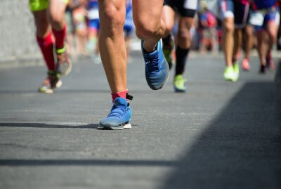 Canvastavlor maratonlöpare