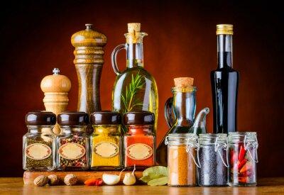 Canvastavlor Mat krydda och kryddor
