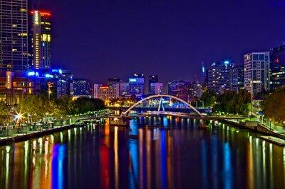 Canvastavlor Melbourne View 18