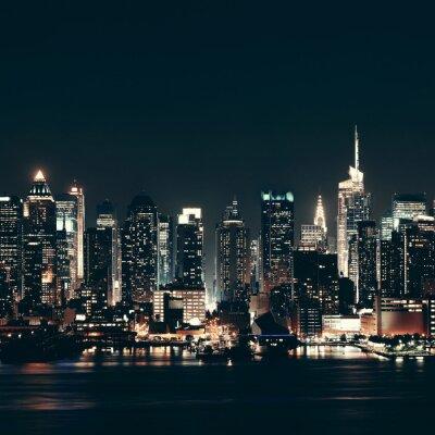 Canvastavlor Midtown Manhattan skyline