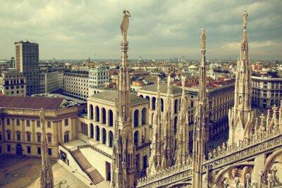 Canvastavlor Milano, Italien. Visa på Kungliga slottet - Palazzo Realle