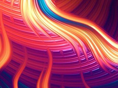 Canvastavlor Modern abstrakt energisk tapet / bakgrund