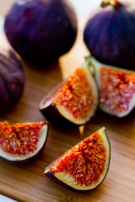 Canvastavlor Mogna Fig Frukt