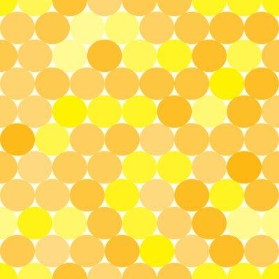 Canvastavlor Monokrom abstrakt geometrisk bakgrund.