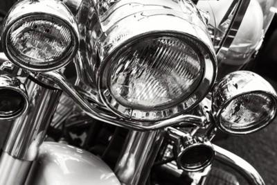 Canvastavlor Motorcykel