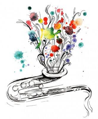 Canvastavlor musik