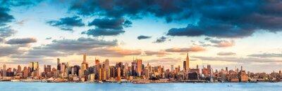 Canvastavlor New York panorama