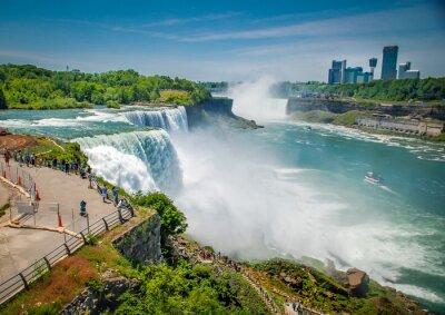 Canvastavlor Niagarafallen