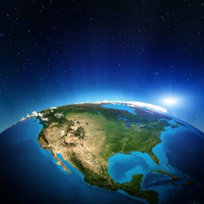 Canvastavlor Nordamerika