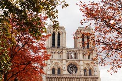 Canvastavlor Notre Dame, Paris