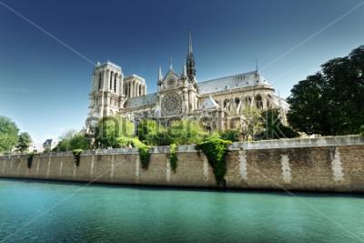 Canvastavlor Notre Dame Paris, Frankrike