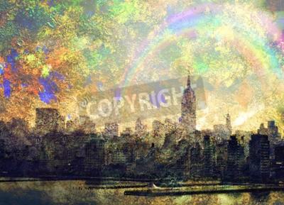 Canvastavlor NYC