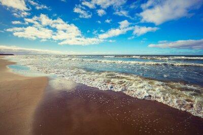 Canvastavlor öde strand