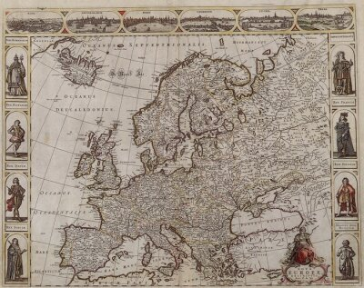 Canvastavlor Old Europe