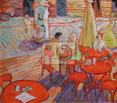Canvastavlor olja målar bilden