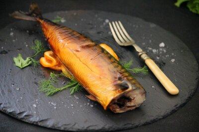 Canvastavlor oljig fisk