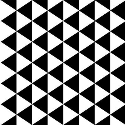 Canvastavlor Optisk illusion bakgrund