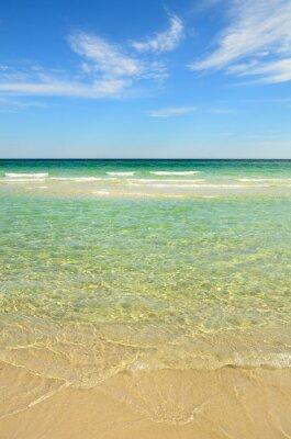Canvastavlor Paradise beach med klart vatten