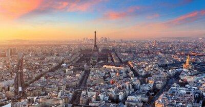 Canvastavlor Paris, Frankrike