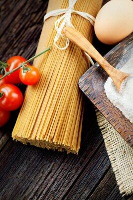 Canvastavlor pasta ingredienser
