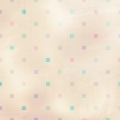 Canvastavlor pastellfärgad bakgrund med prickar