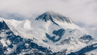 Canvastavlor Peak i Nepal
