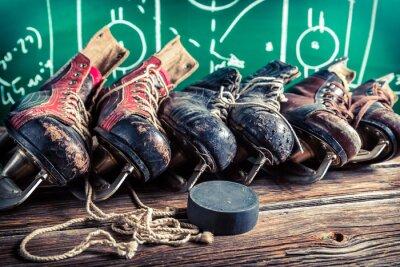 Canvastavlor Planerar att spela i ishockeymatcher