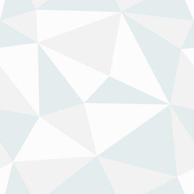 Canvastavlor Polygonal seamless