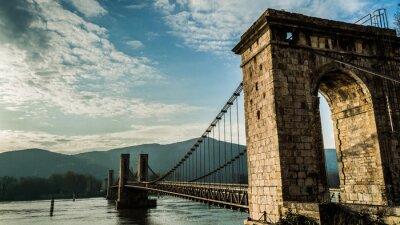 Canvastavlor pont du Robinet