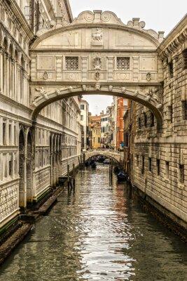 Canvastavlor Ponte dei Sospiri, Venedig, Italien