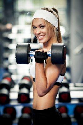 Canvastavlor Pumpa upp biceps