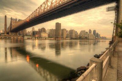 Canvastavlor Queensboro Bridge